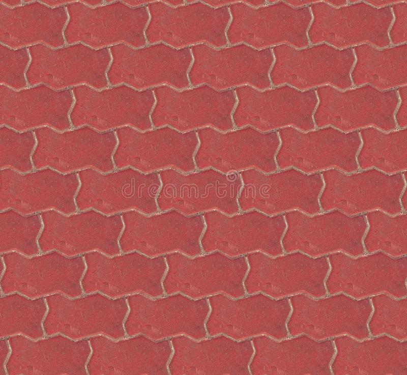 Άνευ ραφής τούβλινο υπόβαθρο σύστασης πεζοδρομίων σχέδιο ανασκόπησης άνευ ρ&a στοκ εικόνες