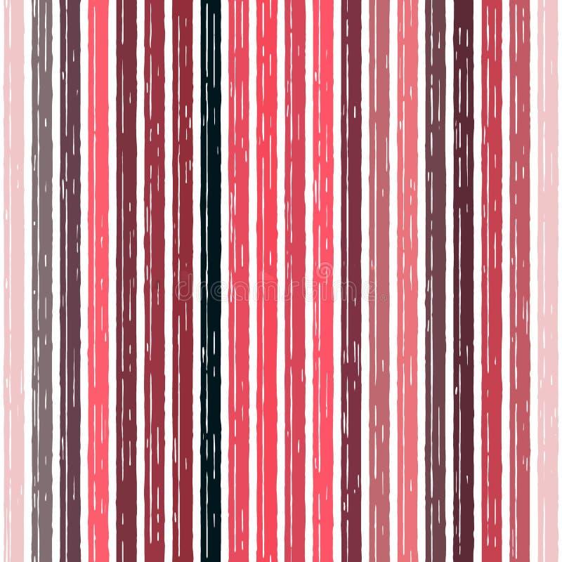 Άνευ ραφής υπόβαθρο λωρίδων σχεδίων παλαιό, grunge σπασμένος διανυσματική απεικόνιση