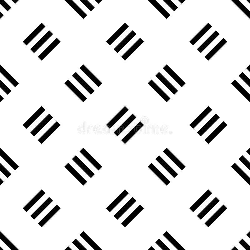 Άνευ ραφής υπόβαθρο σχεδίων των τριπλών γραμμών απεικόνιση αποθεμάτων