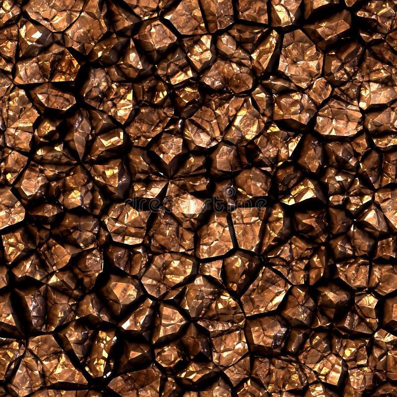 Άνευ ραφής χρυσό ορυκτό υπόβαθρο στοκ φωτογραφίες με δικαίωμα ελεύθερης χρήσης