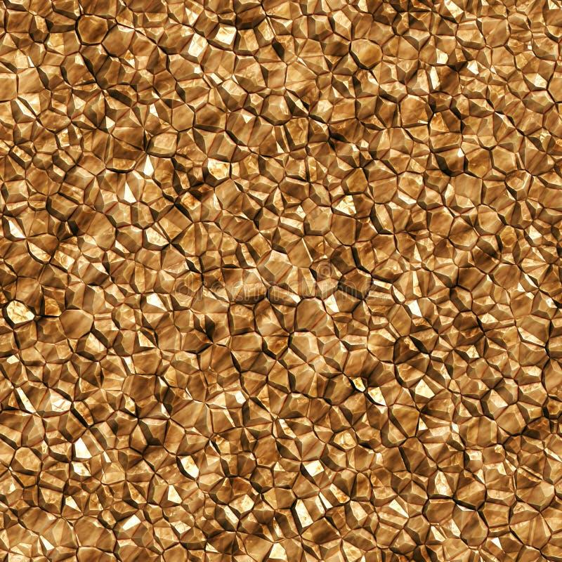 Άνευ ραφής χρυσό ορυκτό υπόβαθρο στοκ εικόνες