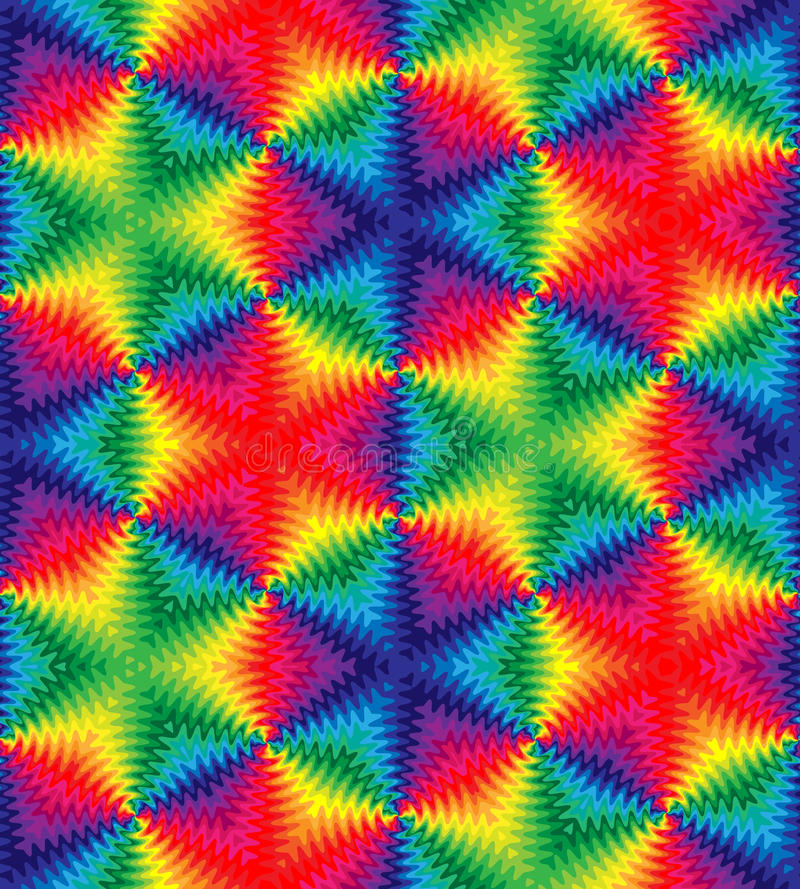 Άνευ ραφής όμορφο ζωηρόχρωμο σχέδιο κυμάτων Μονοχρωματικό γεωμετρικό αφηρημένο υπόβαθρο Κατάλληλος για το κλωστοϋφαντουργικό προϊ διανυσματική απεικόνιση