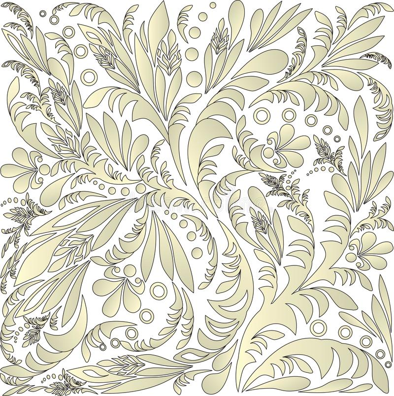Άνευ ραφής floral ανασκόπηση στοκ εικόνα με δικαίωμα ελεύθερης χρήσης