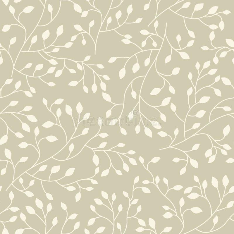 Άνευ ραφής floral διανυσματικό σχέδιο απεικόνιση αποθεμάτων