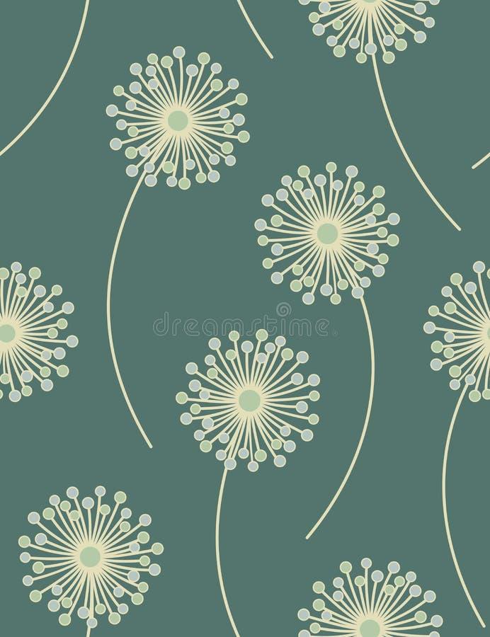 Άνευ ραφής floral πρότυπο. ελεύθερη απεικόνιση δικαιώματος