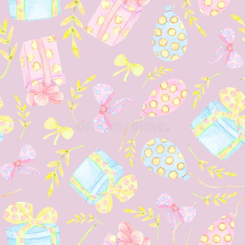 Άνευ ραφής floral υπόβαθρο Tracery χειροποίητο σχέδιο σκηνικού υφάσματος φύσης εθνικό με τα διαποτισμένα σκοτεινά λουλούδια Υφαντ απεικόνιση αποθεμάτων