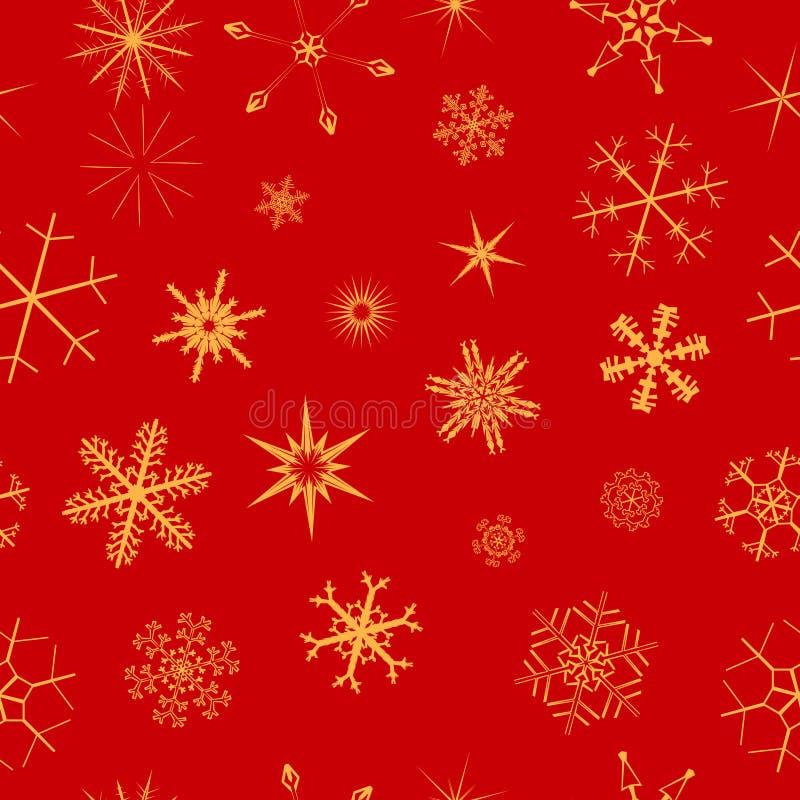 Άνευ ραφής snowflake ανασκόπηση στοκ φωτογραφίες με δικαίωμα ελεύθερης χρήσης