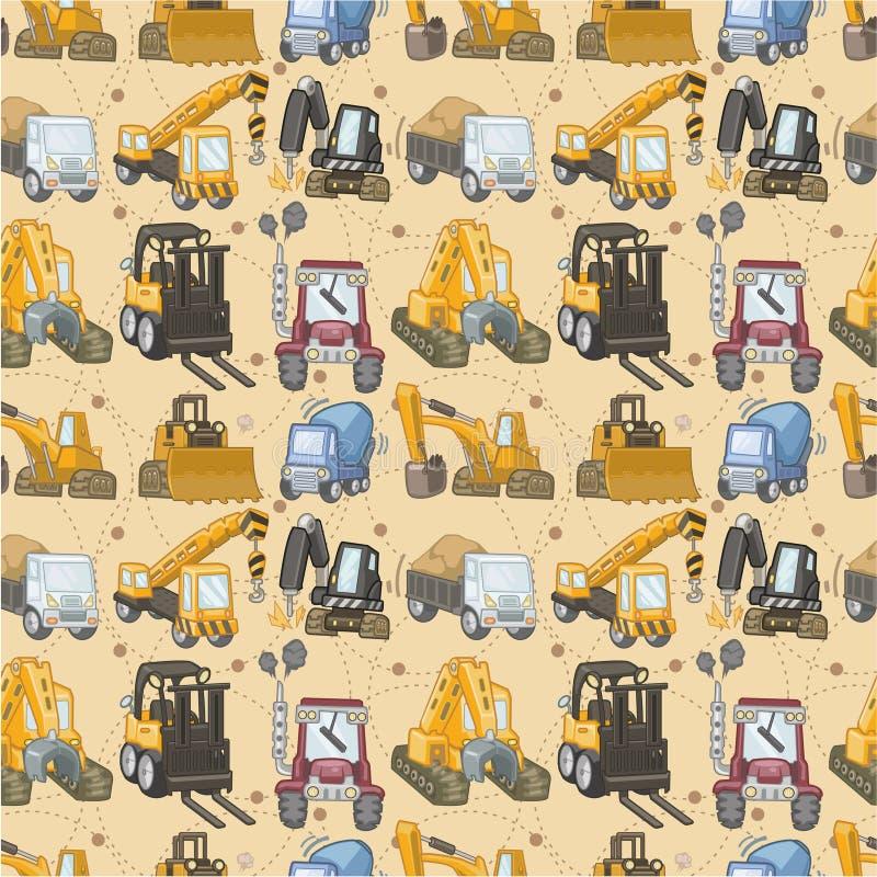 άνευ ραφής truck προτύπων απεικόνιση αποθεμάτων