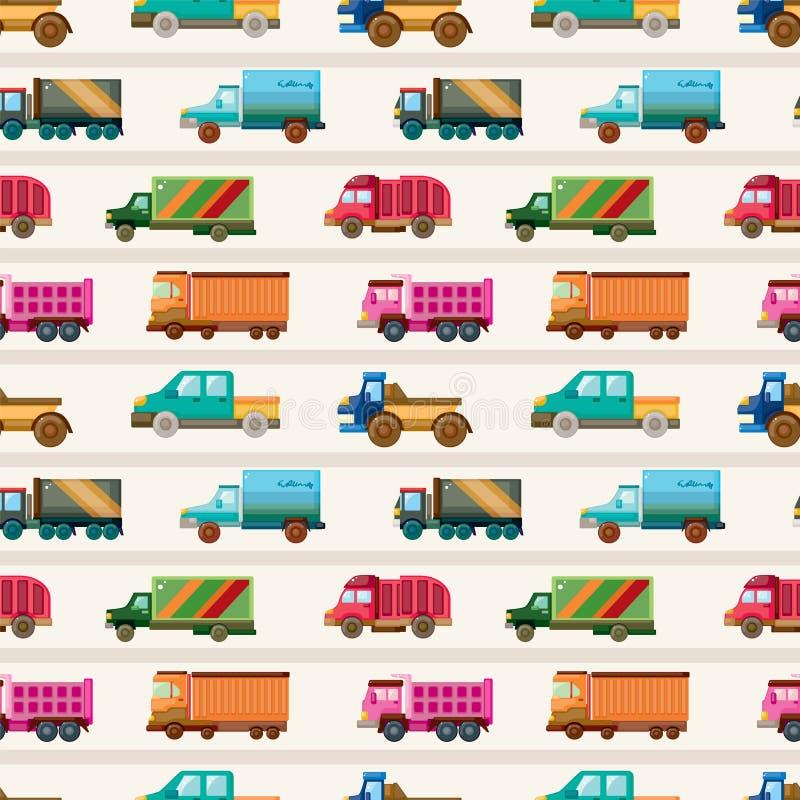 άνευ ραφής truck προτύπων ελεύθερη απεικόνιση δικαιώματος