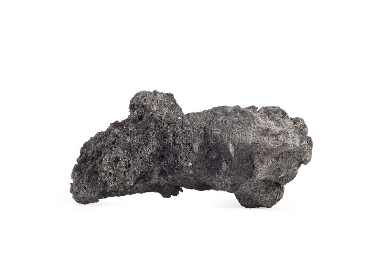 Άνθρακας κοκ στο άσπρο υπόβαθρο στοκ εικόνες