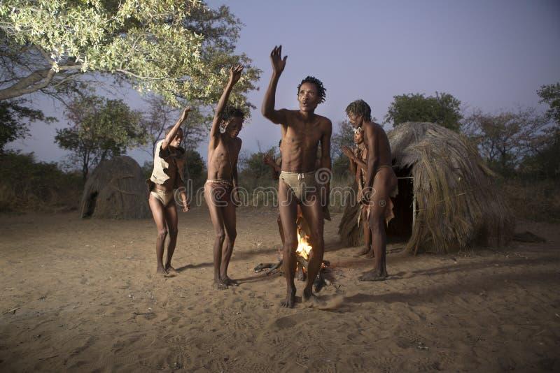 Άνθρωποι θάμνων SAN στοκ φωτογραφίες με δικαίωμα ελεύθερης χρήσης