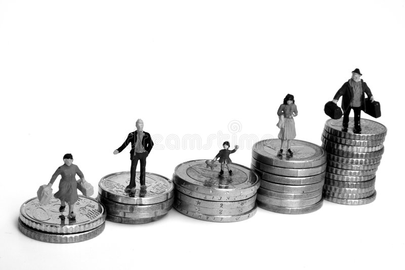 άνθρωποι οικονομίας στοκ εικόνες