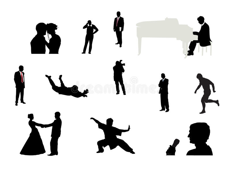 Download άνθρωποι ομάδας απεικόνιση αποθεμάτων. εικονογραφία από επιχειρηματίας - 13176082