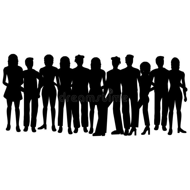 άνθρωποι ομάδας απεικόνιση αποθεμάτων