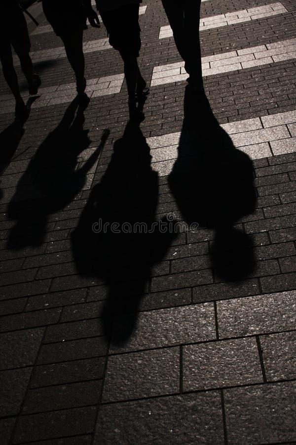 άνθρωποι πόλεων στοκ εικόνα με δικαίωμα ελεύθερης χρήσης