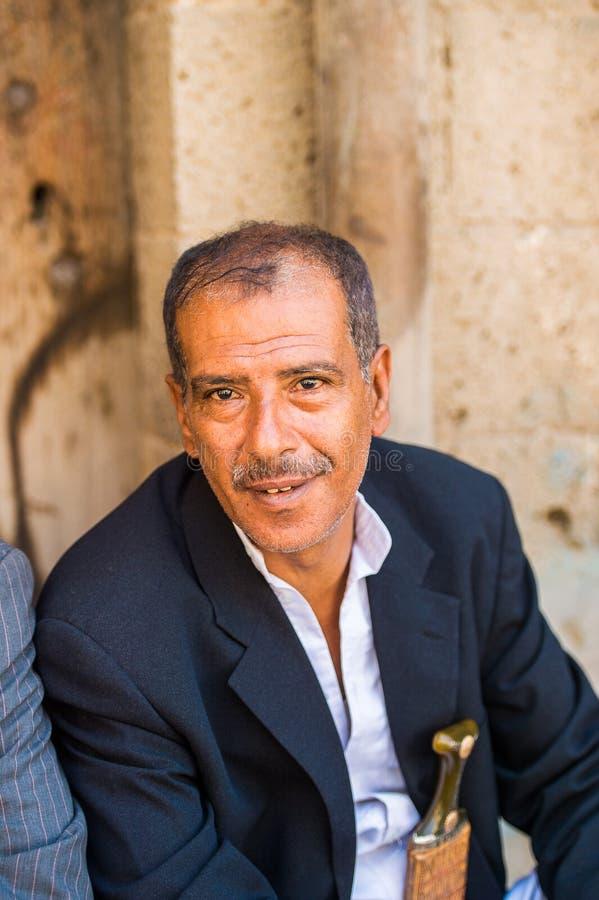 Άνθρωποι σε Sana'a, Υεμένη στοκ φωτογραφία με δικαίωμα ελεύθερης χρήσης