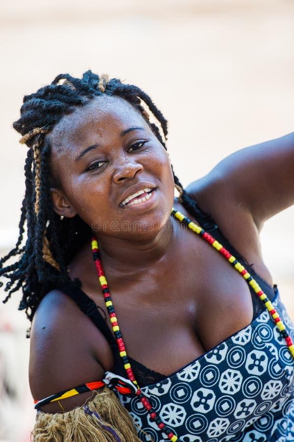 Άνθρωποι στην ΑΝΓΚΟΛΑ, ΛΟΥΑΝΤΑ στοκ φωτογραφία με δικαίωμα ελεύθερης χρήσης