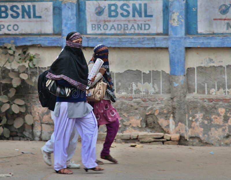 Άνθρωποι στις οδούς, Ινδία 2013 στοκ φωτογραφία