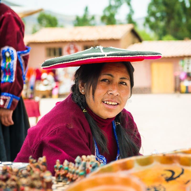 Άνθρωποι στο Περού στοκ φωτογραφίες