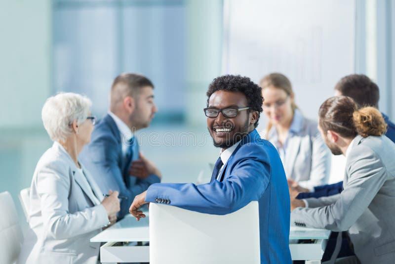 Άνθρωποι συνεδρίασης στοκ εικόνα με δικαίωμα ελεύθερης χρήσης