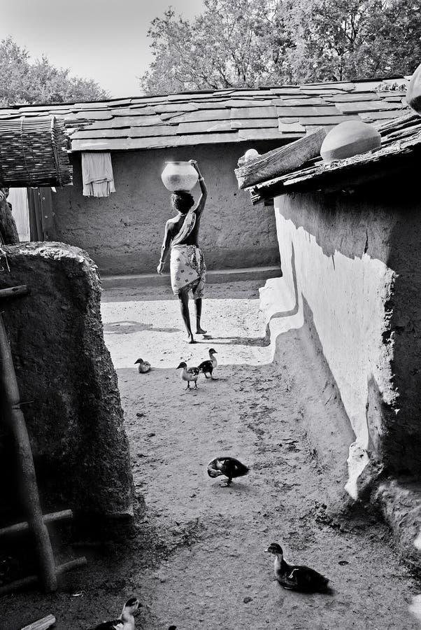 άνθρωποι της Ινδίας φυλε&t στοκ εικόνες με δικαίωμα ελεύθερης χρήσης