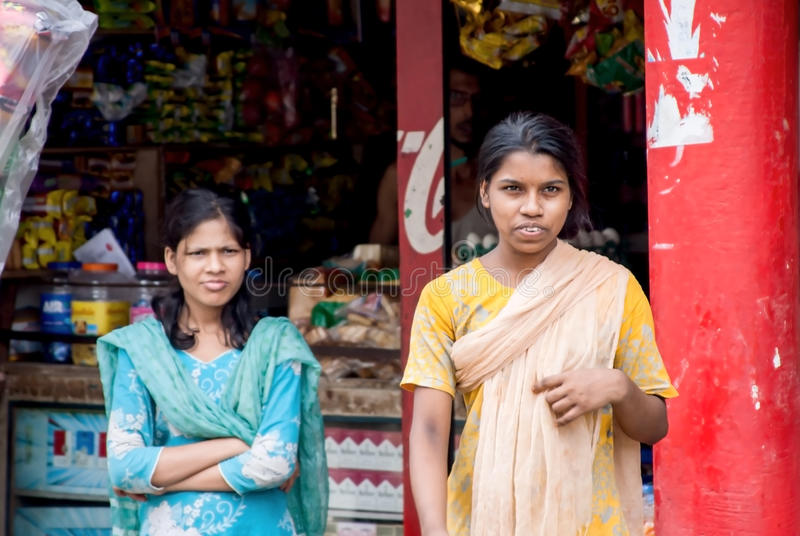 Άνθρωποι του Μπανγκλαντές στοκ εικόνα