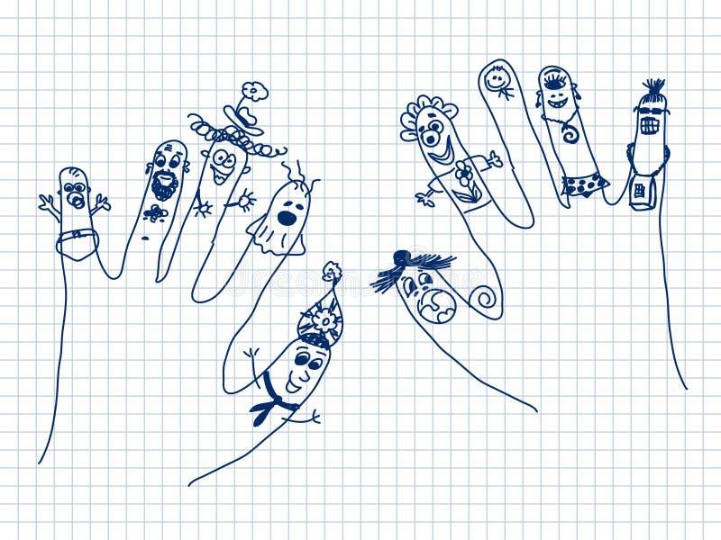 Άνθρωποι χεριών ελεύθερη απεικόνιση δικαιώματος