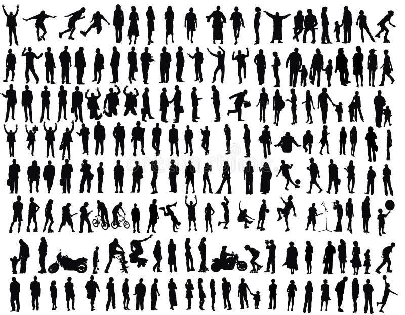άνθρωποι διανυσματική απεικόνιση