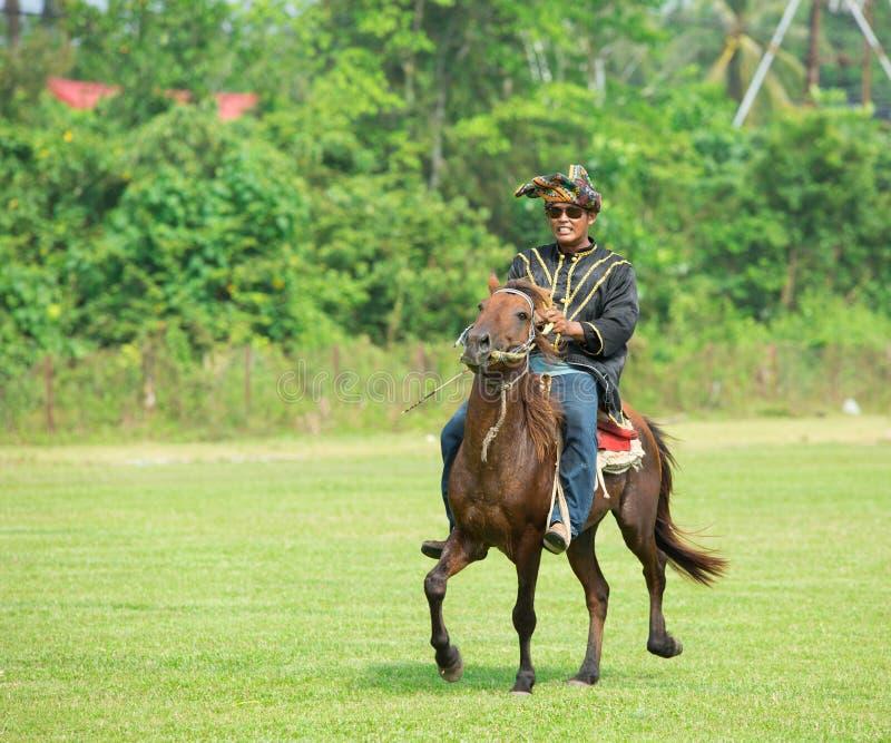 Άνθρωποι Belud Kota στοκ φωτογραφία