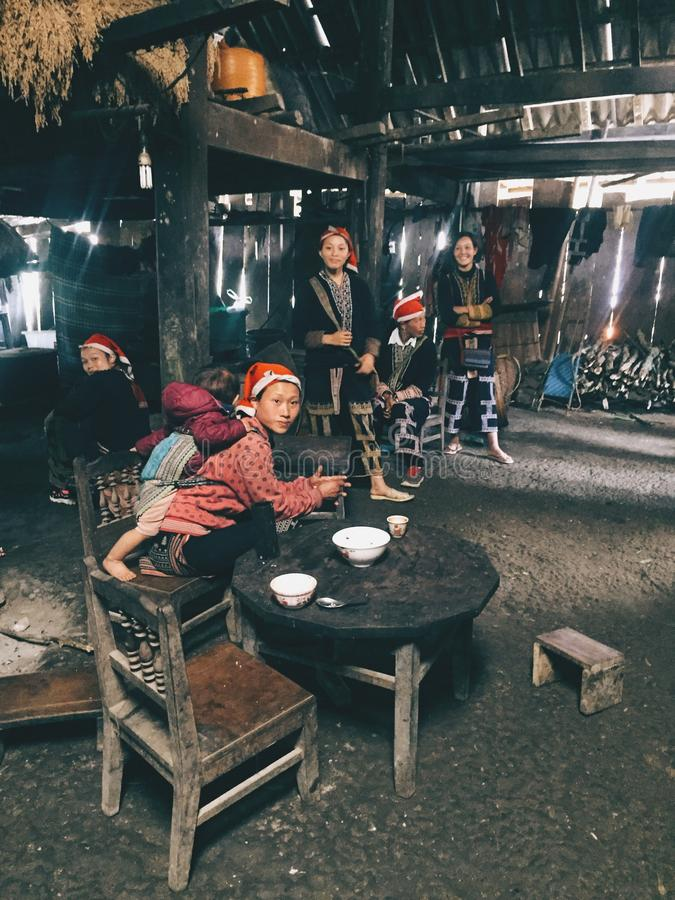 Άνθρωποι Dao 5$α  á»  στοκ φωτογραφία