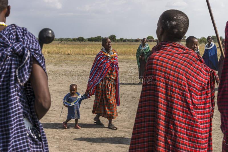 Άνθρωποι Maasai στοκ φωτογραφίες με δικαίωμα ελεύθερης χρήσης