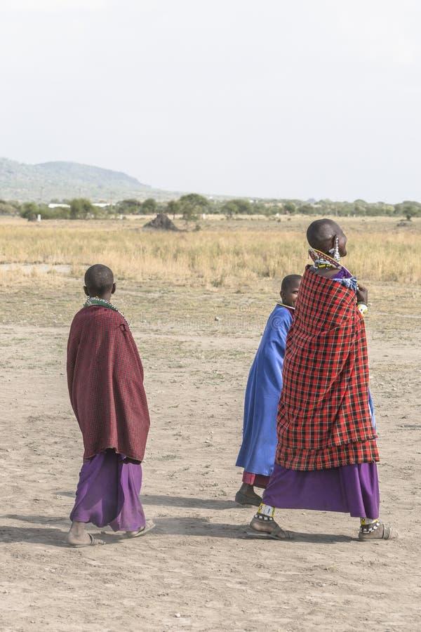 Άνθρωποι Maasai στοκ εικόνες με δικαίωμα ελεύθερης χρήσης