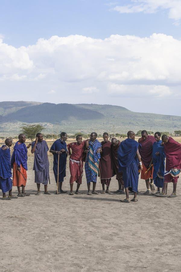 Άνθρωποι Maasai στοκ φωτογραφία