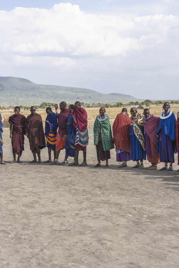 Άνθρωποι Maasai στοκ φωτογραφία με δικαίωμα ελεύθερης χρήσης