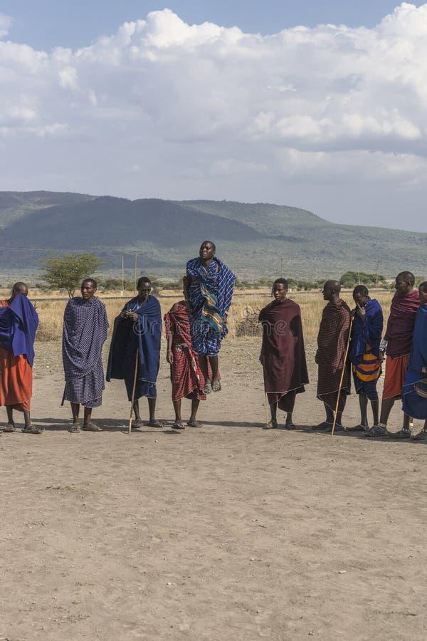 Άνθρωποι Maasai στοκ εικόνες