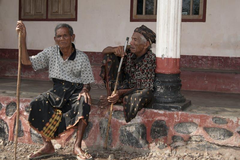 Άνθρωποι Ngada σε Wagomenge Flores στοκ εικόνα με δικαίωμα ελεύθερης χρήσης