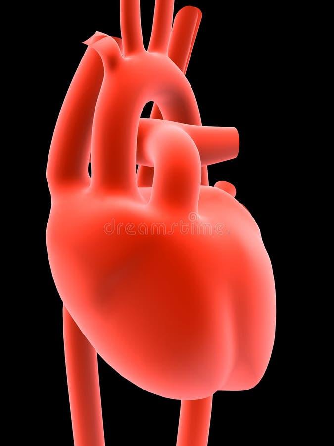 άνθρωπος καρδιών διανυσματική απεικόνιση