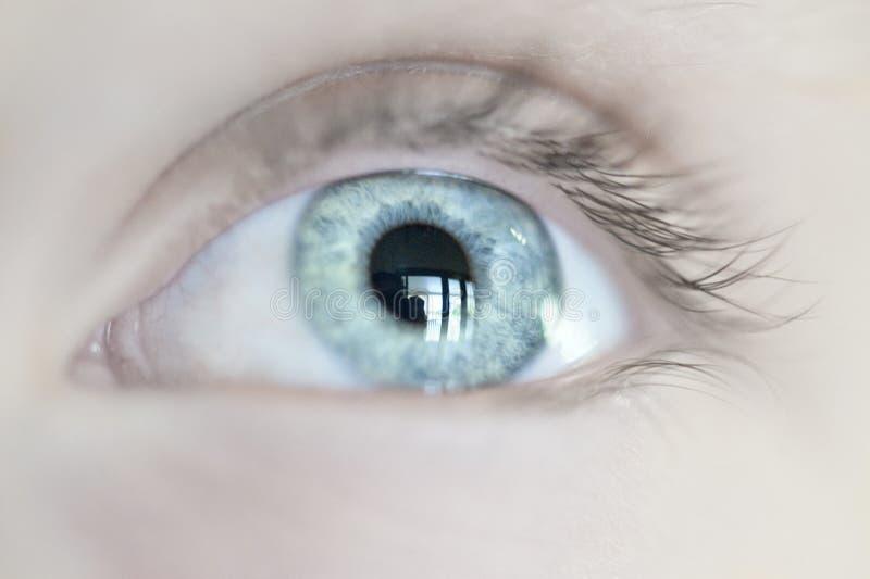 άνθρωπος ματιών στοκ εικόνες με δικαίωμα ελεύθερης χρήσης