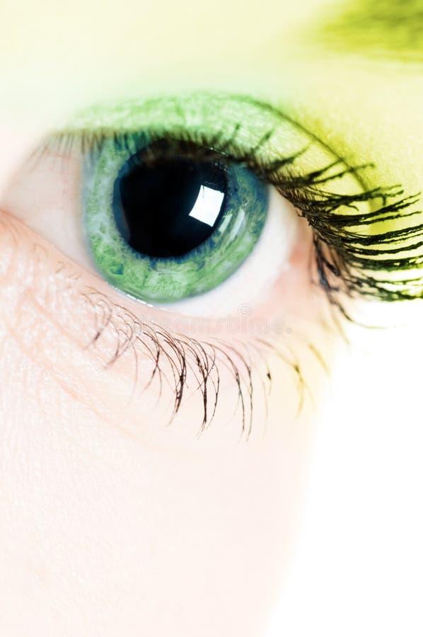 άνθρωπος ματιών στοκ φωτογραφία με δικαίωμα ελεύθερης χρήσης