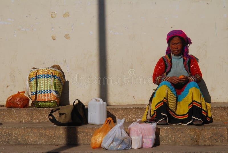 Άνθρωπος Yi στη νοτιοδυτική Κίνα στοκ φωτογραφία με δικαίωμα ελεύθερης χρήσης