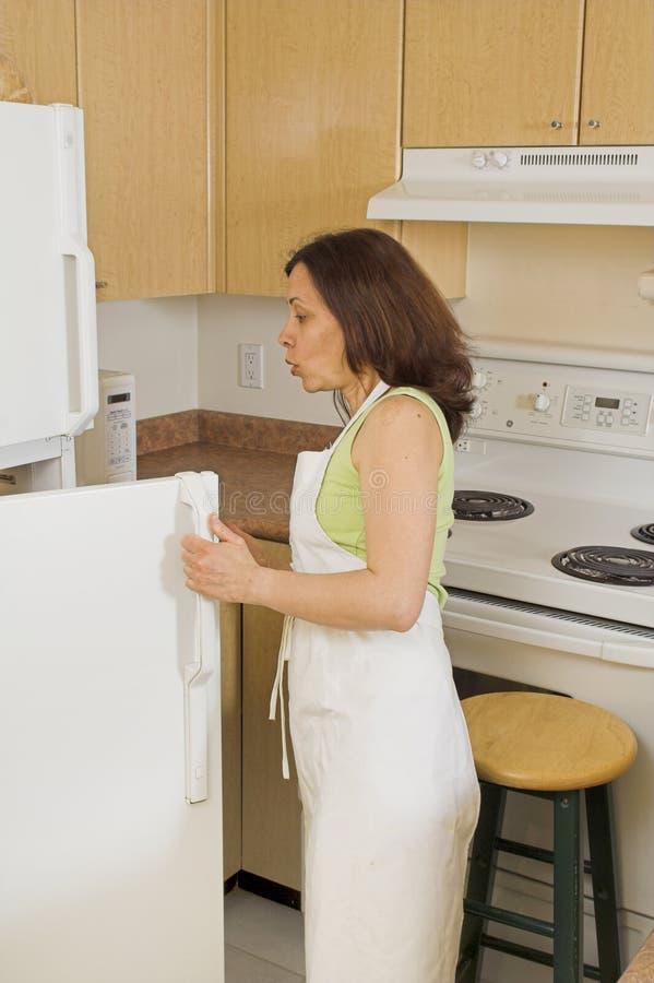 άνοιγμα ψυγείων στοκ φωτογραφία με δικαίωμα ελεύθερης χρήσης