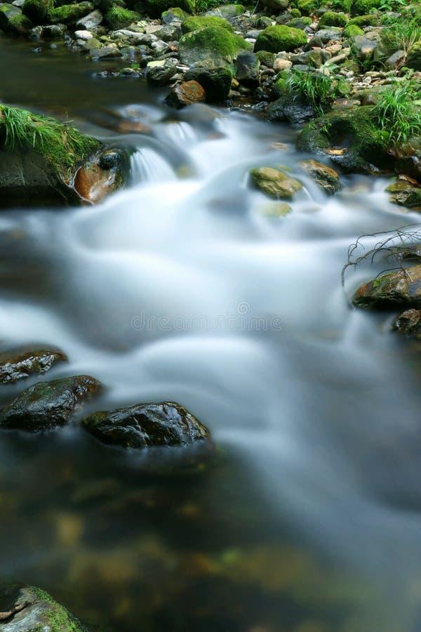 Άνοιξη και πράσινη πέτρα στοκ εικόνες με δικαίωμα ελεύθερης χρήσης