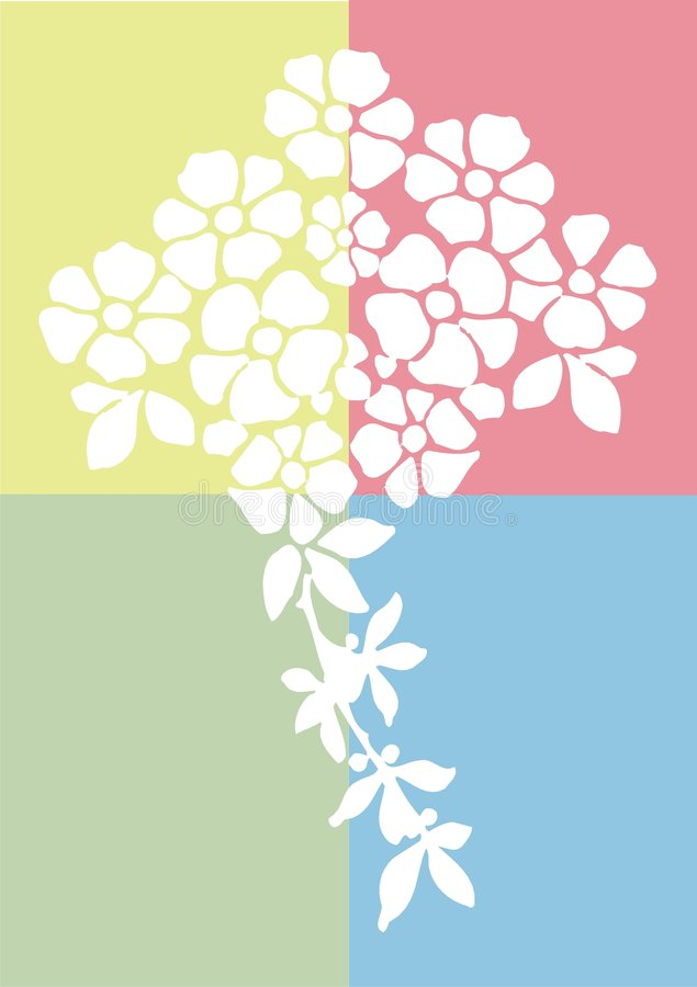 άνοιξη λουλουδιών ελεύθερη απεικόνιση δικαιώματος
