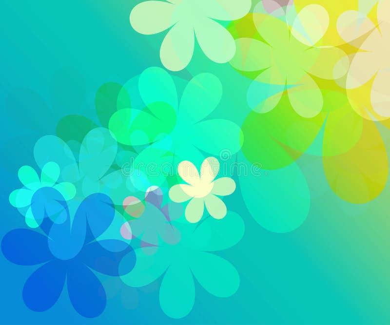 άνοιξη λουλουδιών διανυσματική απεικόνιση