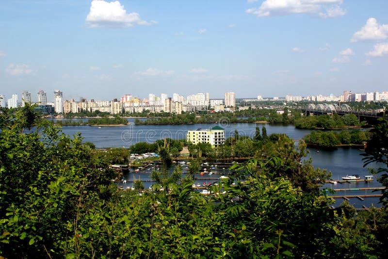 Άνοιξη στο Κίεβο στοκ φωτογραφία
