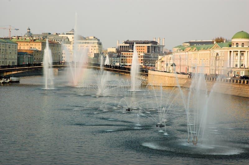 άνοιξη της Μόσχας Στοκ Φωτογραφία
