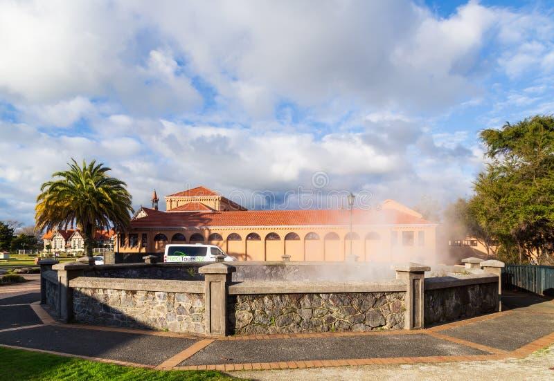 Άνοιξη της Rachel/Whangapipiro και μπλε λουτρά, Rotorua, Νέα Ζηλανδία στοκ φωτογραφίες