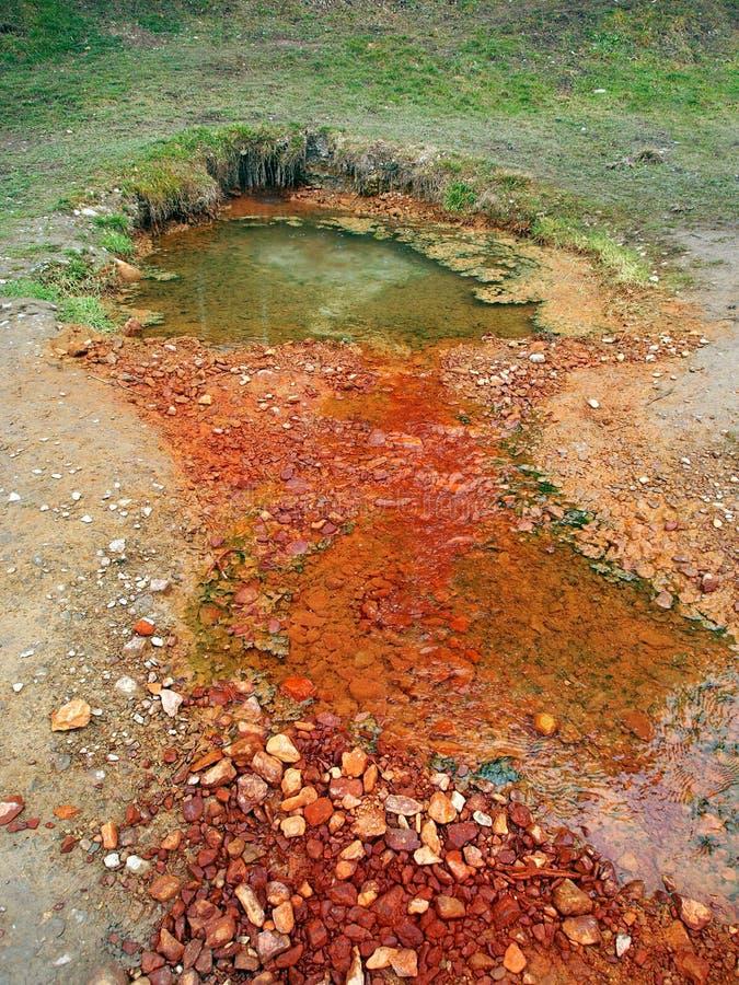 Άνοιξη Medokys σε Kalameny, φυσικό ορόσημο στοκ φωτογραφία