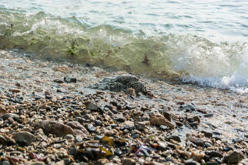 άντεξε παλιρροιακό στοκ φωτογραφία με δικαίωμα ελεύθερης χρήσης