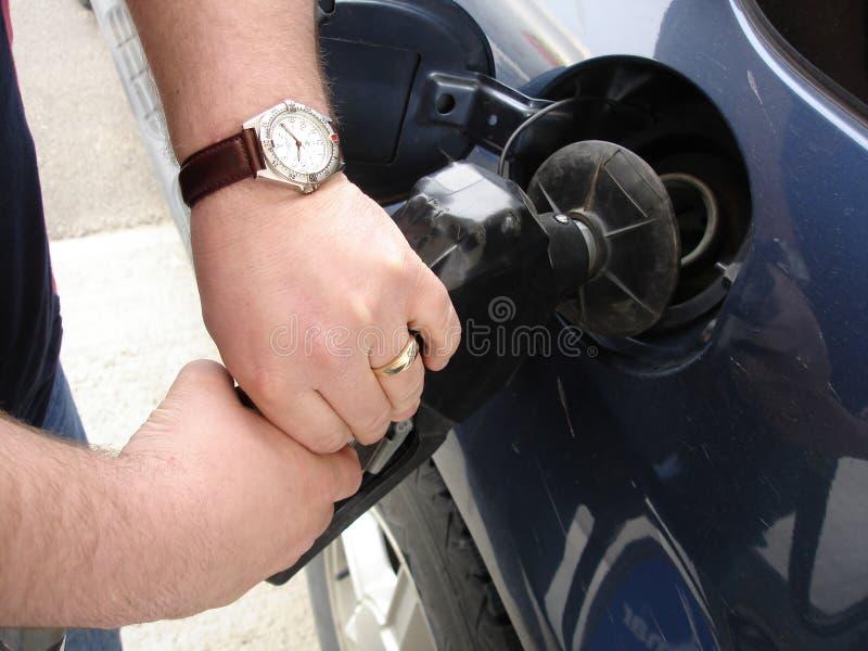 άντληση αερίου στοκ φωτογραφία